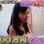 グラビアアイドルの杉原杏璃が株で1000万儲けていた(動画あり)